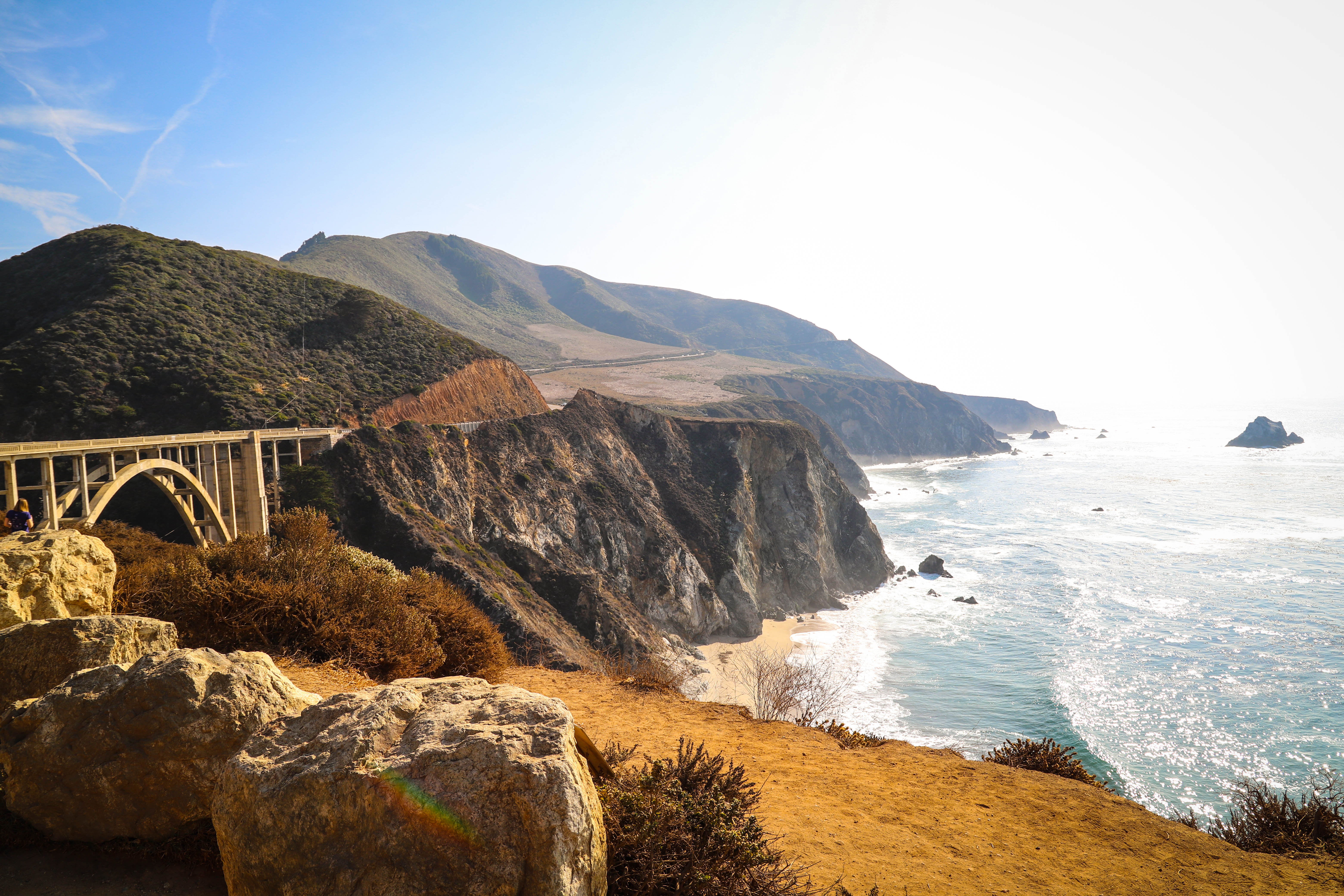 Big Sur, California, USA. November 14-17, 2018.